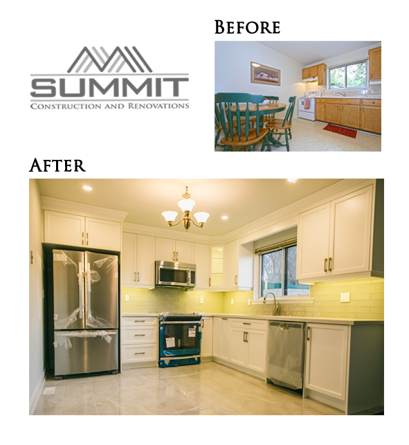 Complete kitchen makeover and redesign